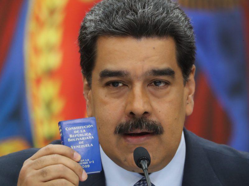 Venesuelos prezidentas N. Maduras inauguruotas antrajai kadencijai