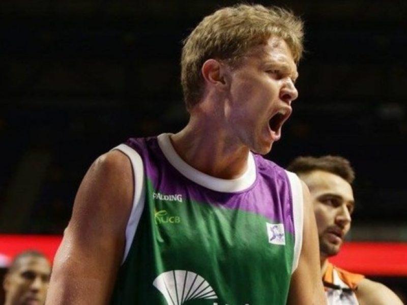 Ispanijos krepšinio pirmenybių rungtynėse M. Kuzminskas pelnė trylika taškų