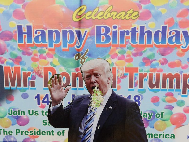 JAV prezidentas švenčia gimtadienį: jo sveikata kelia didelį susidomėjimą