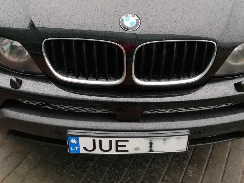 BMW vairuotojui Vytis gali užtraukti baudą