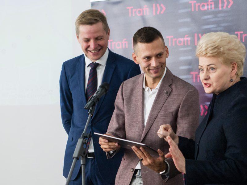 """Transporto platformos """"Trafi"""" pristatymas"""