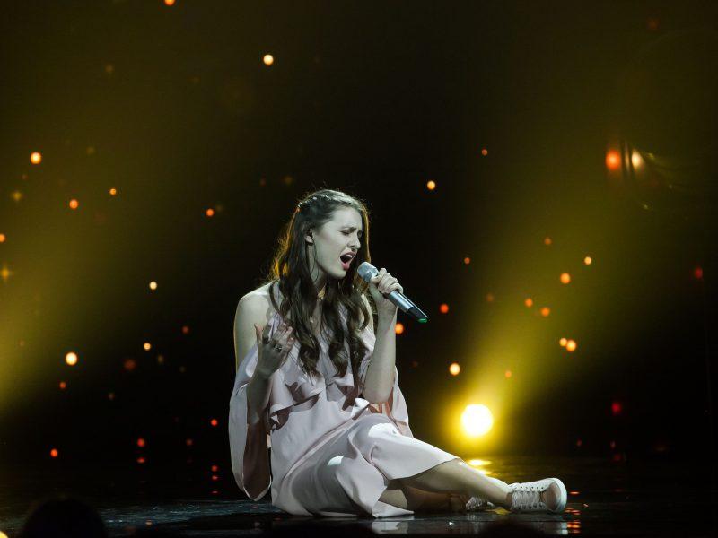 """""""Eurovizijos"""" nacionalinės atrankos koncerto filmavimas"""