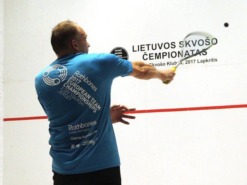 Lietuvos skvošo čempionatas 2017