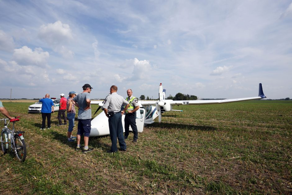 Kauno rajone nukrito lėktuvas