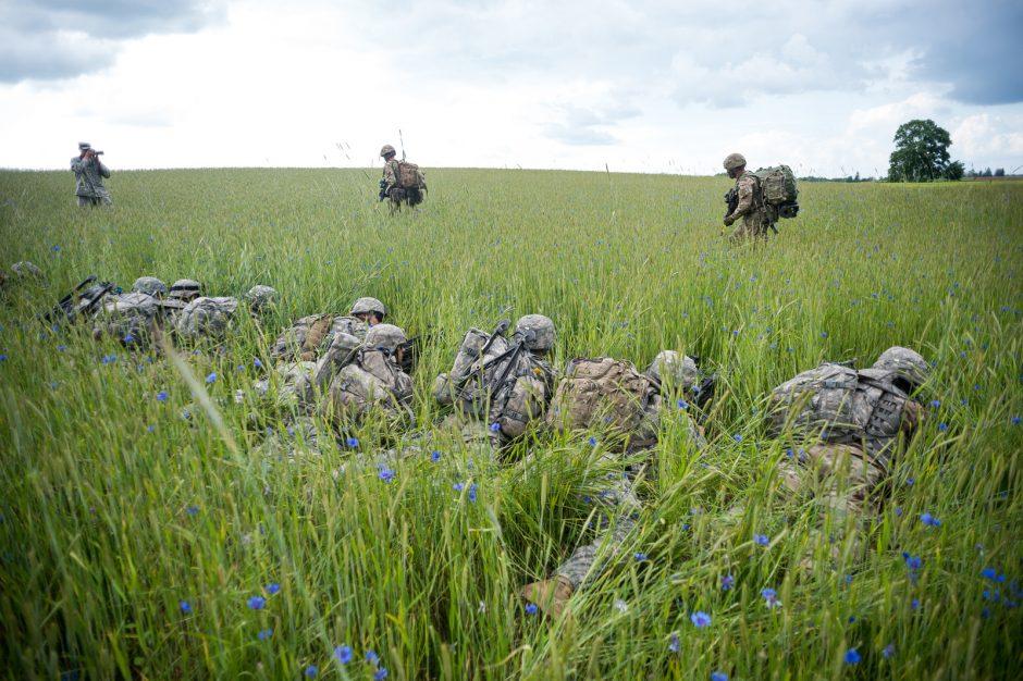 NATO pirmą kartą treniravosi ginti Suvalkų koridorių