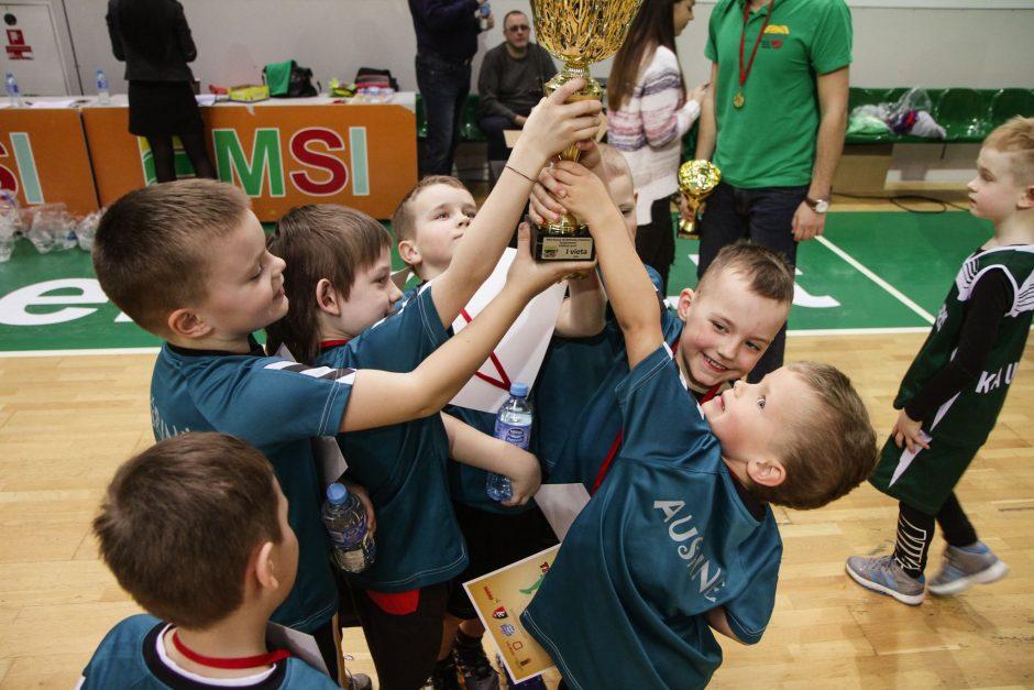 Jau šį mėnesį startuoja darželinukų krepšinio čempionatas