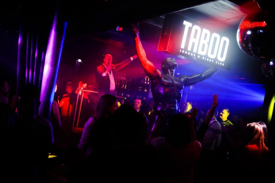 "Legendinė diskoteka ""Taboo"" klube"