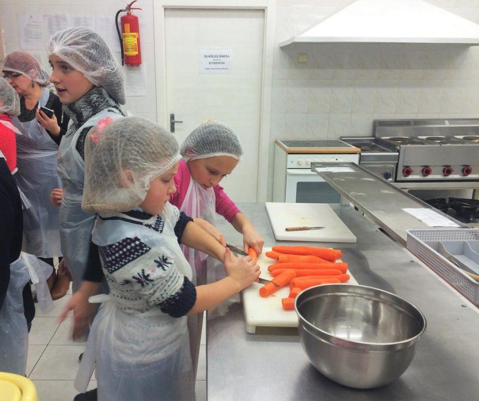 Ateities maistas vaikų akimis