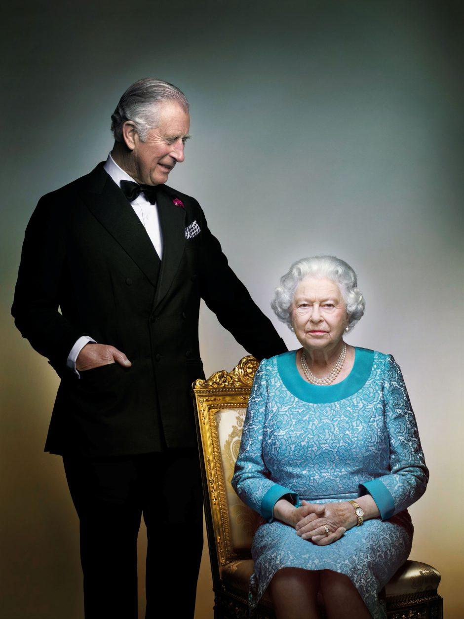 Britanijos karalienei Elizabeth II sukanka 91-eri