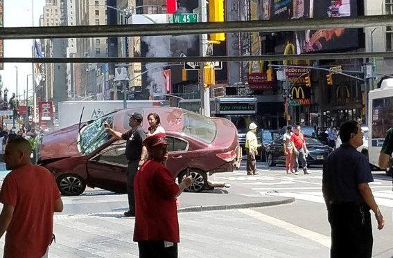 Tragedija Niujorko Taimso aikštėje