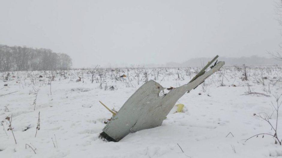Pamaskvėje sudužo keleivinis lėktuvas