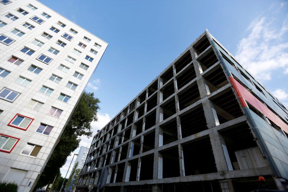 Vokietijoje per sprogimą pastate sužeisti 25 žmonės