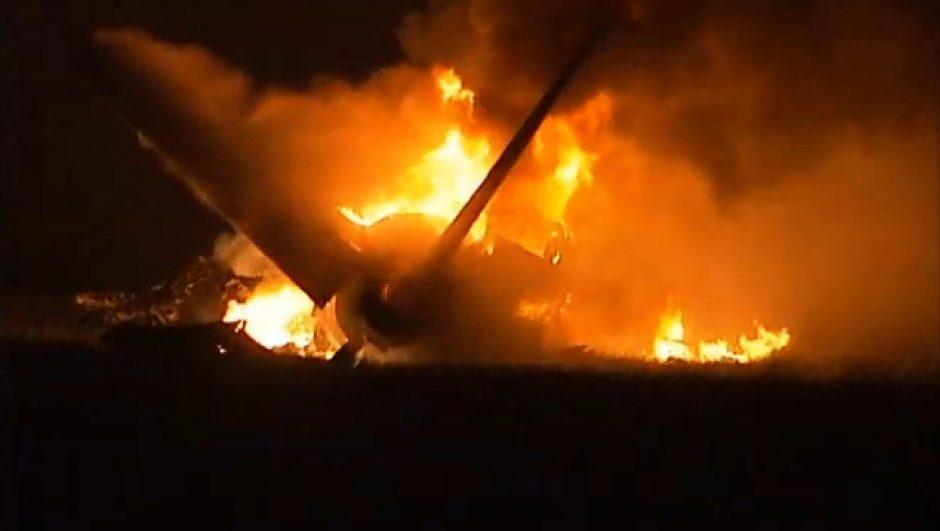 Alabamoje sudužo krovininis lėktuvas