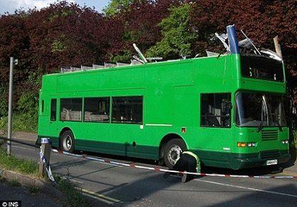 Pamiršo antrąjį autobuso aukštą