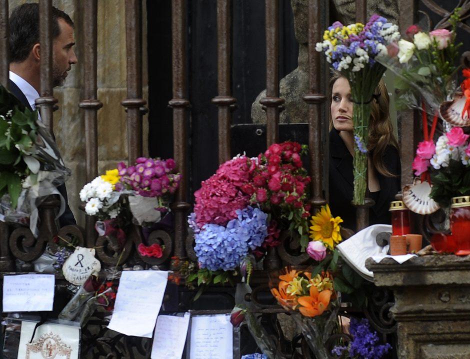 Ispanijoje sudužusio traukinio mašinistas teigia
