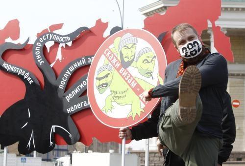 Rusijoje bręsta naujas etninės nesantaikos pliūpsnis