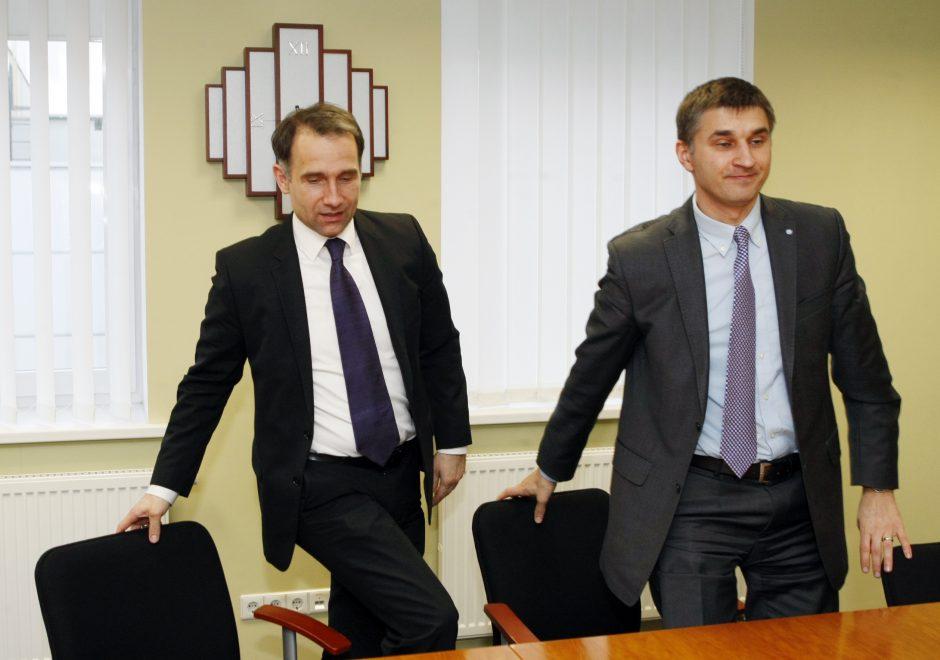Energetikos ministras įsitikino, kad SGD terminalo projektas vyksta sėkmingai