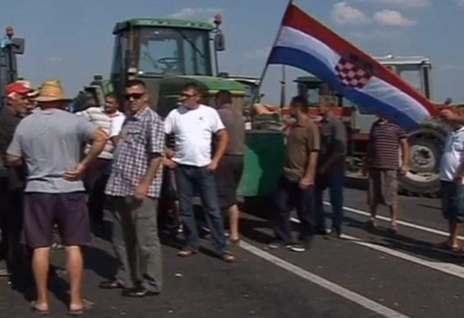 ES naujokėje Kroatijoje – protestai dėl per mažų ES išmokų
