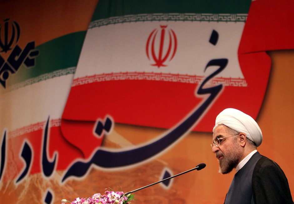 """Išrinktasis Irano vadovas: Izraelio """"žaizda"""" privalo būti išvalyta"""