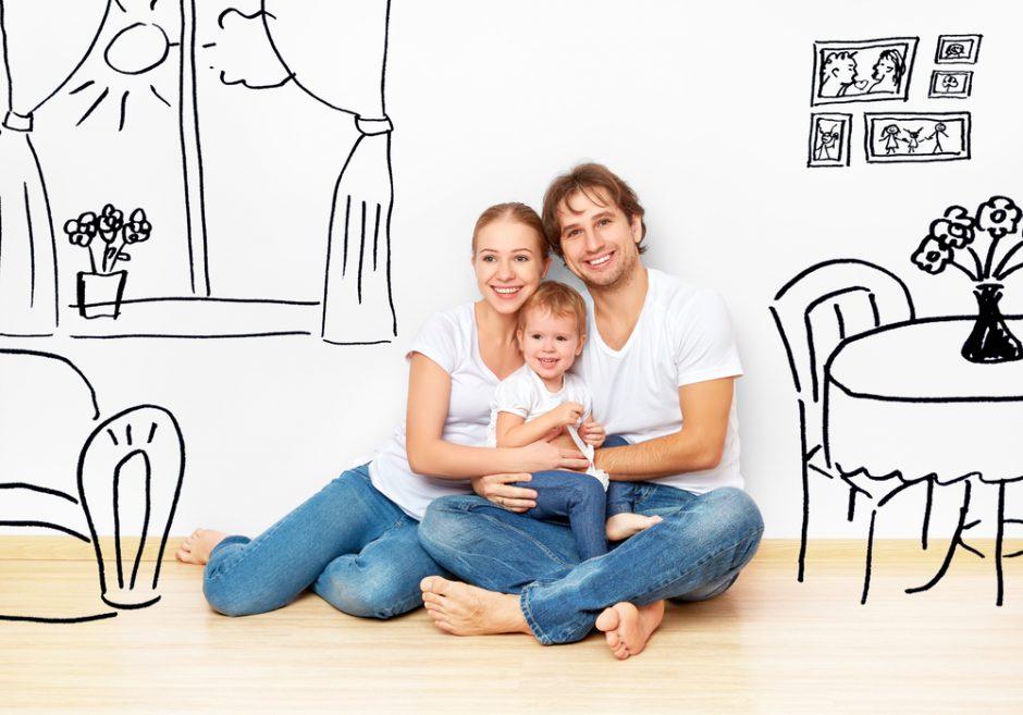 Specialistė: su naujais mamos ir tėčio vaidmenimis reikia susigyventi