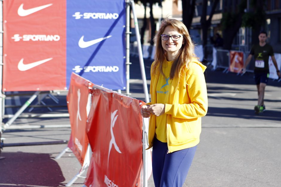 Startavo Vilties maratono bėgikai