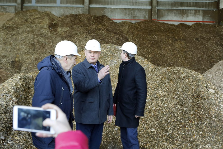 Šildymas biokuru pažabos kainų augimą?