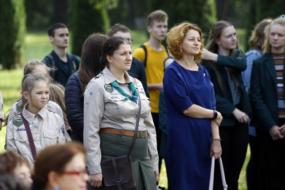 Holokausto dienos minėjimas Klaipėdoje