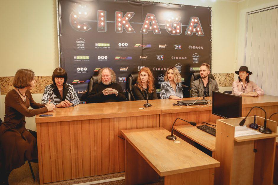 """Pirmą kartą Lietuvoje į sceną žengia miuziklas """"Čikaga"""""""