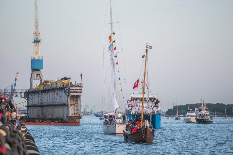 Laivų paradas 2018