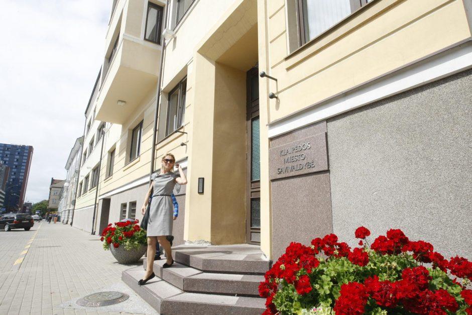 Po siūlymo mažinti klerkų skaičių – etatų didinimas Klaipėdos savivaldybėje