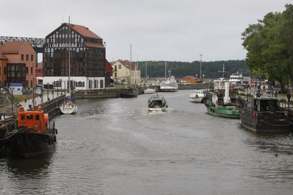 Danėje laivus saugos nuo smūgių