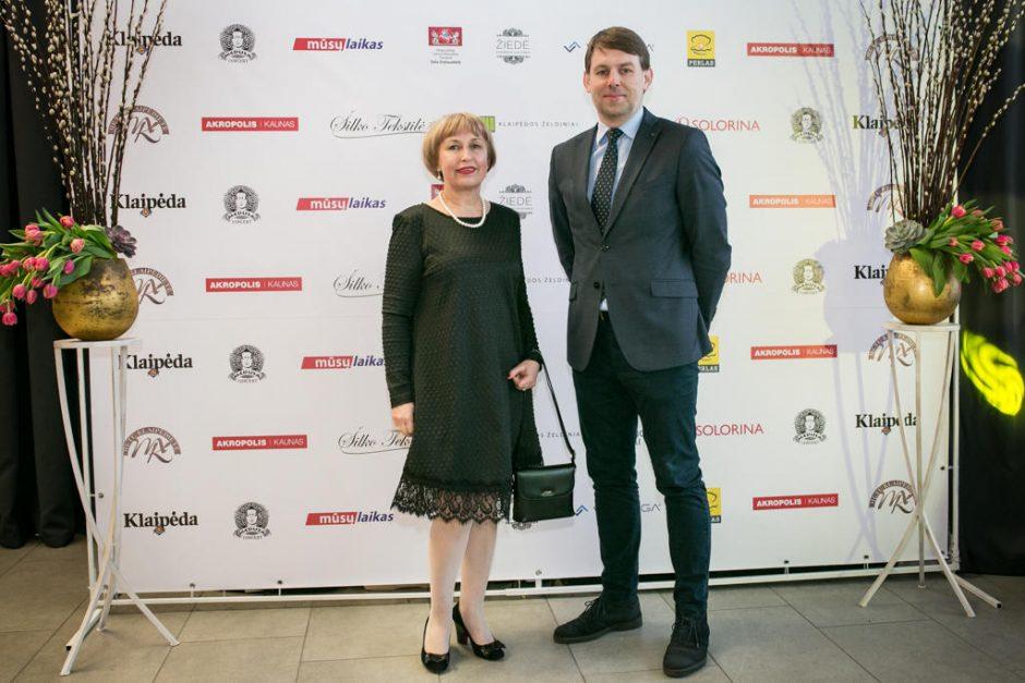 Penkioliktoji Metų klaipėdietė – G. Kučinskienė