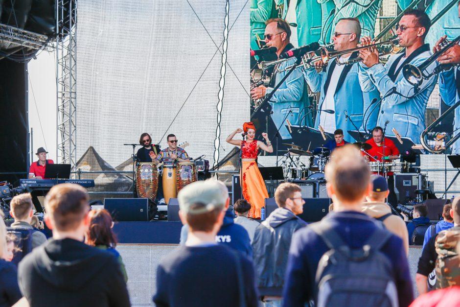 Uostamiestyje pralėkė pirmoji džiazo festivalio diena