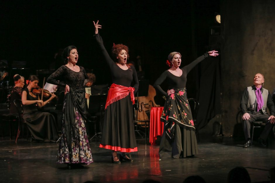 Ispanišką muzikinį spektaklį palydėjo ovacijomis