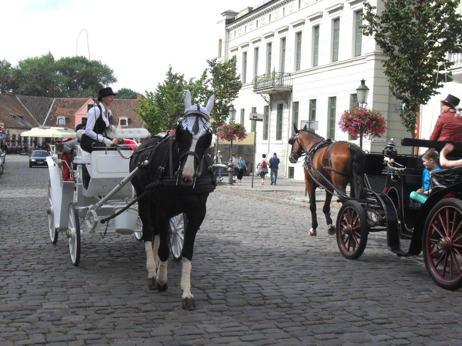 Turistų srautas atgaivino Teatro aikštę