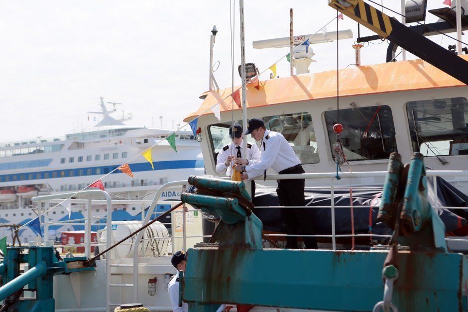 """""""Garant Group"""" įsigijo modernų laivą"""