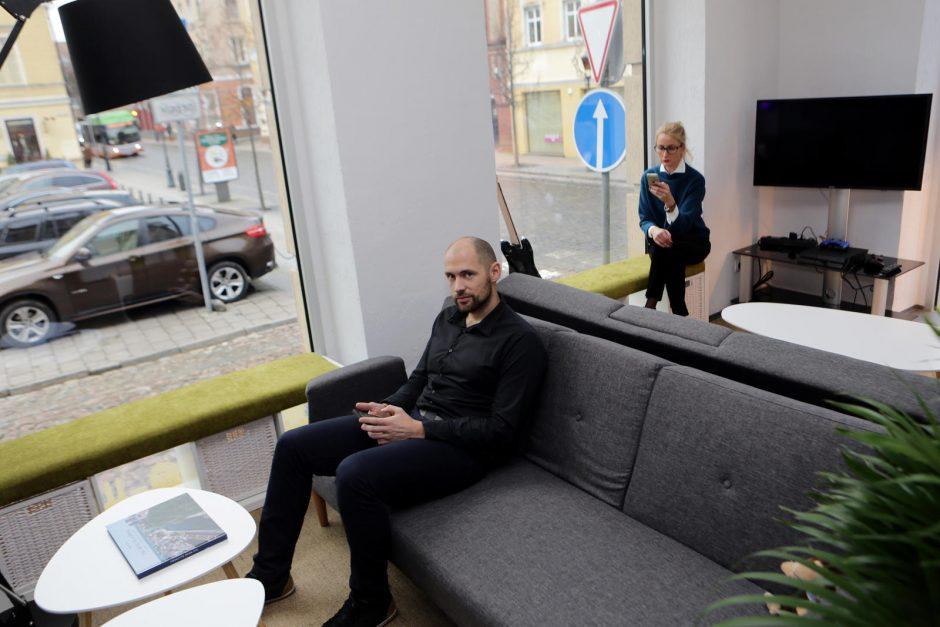 Į uostamiestį žengia inovatyvus verslas