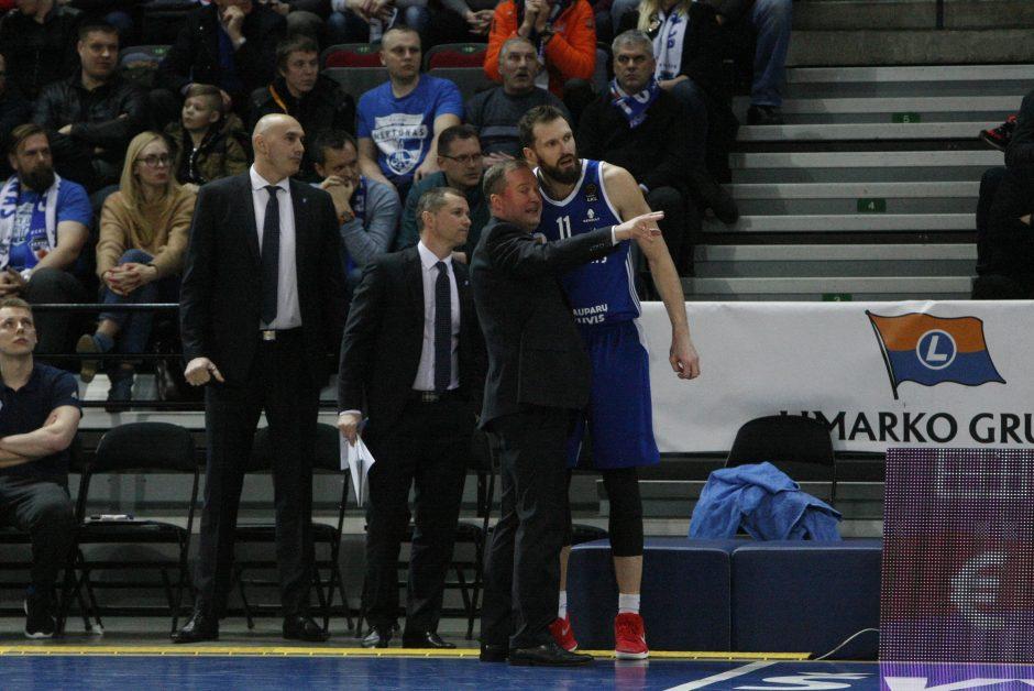 """E. Želionis ir R. Seibutis ištraukė """"Neptūną"""" kovoje su """"Lietkabeliu"""""""