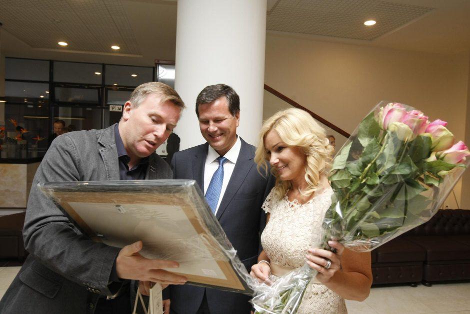 """Viešbučio """"Europa City Aurora"""" atidaryme Klaipėdoje – ypatinga premjera"""