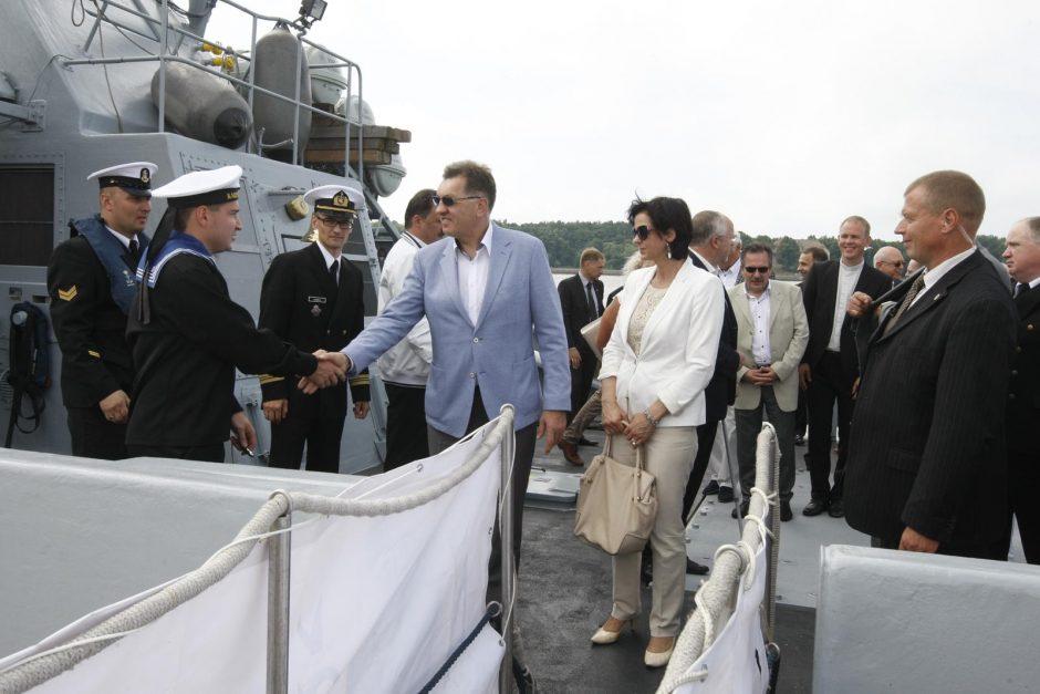 Žuvusių jūroje pagerbimo ceremonija