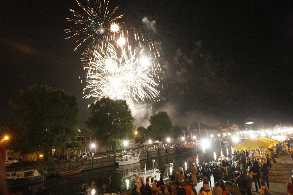 Jūros šventės metu nuo sprogmens nukentėjo mažametė