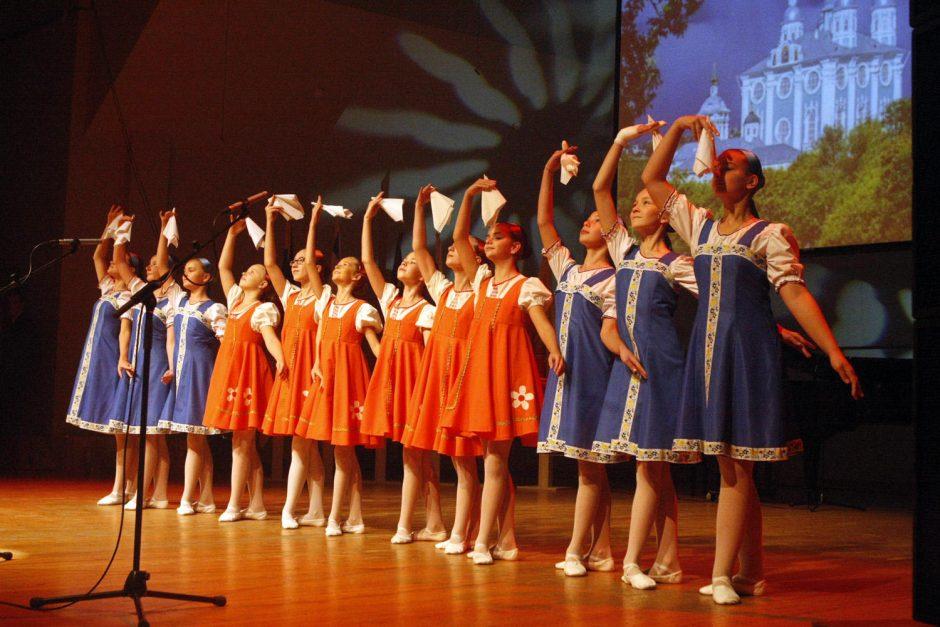 Folkloro koncerte tautinėms mažumoms – armėnų, lenkų, ukrainiečių, totorių dainos