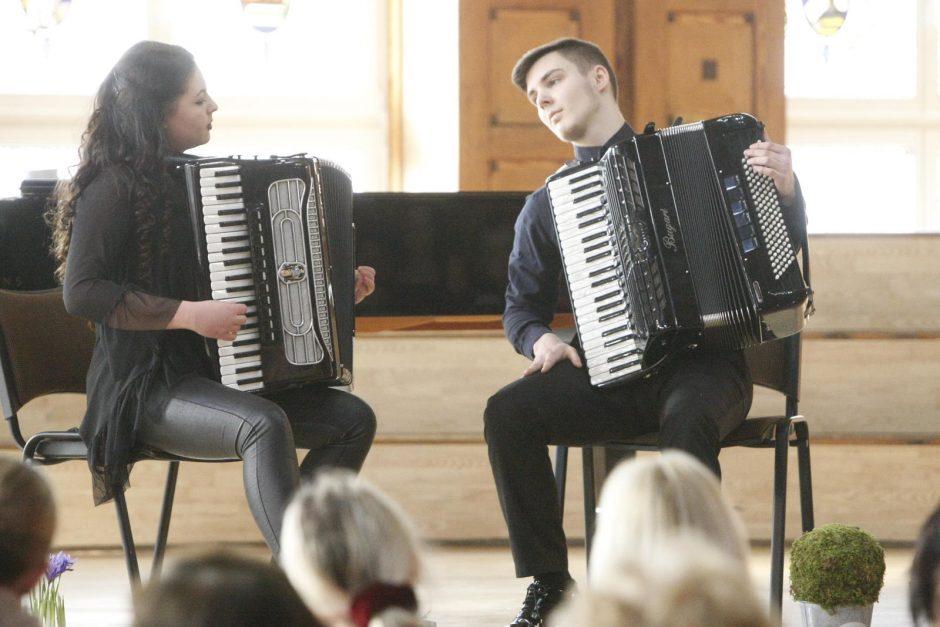Jaunųjų atlikėjų koncertas