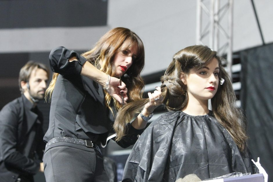 Parodoje – išskirtinis stilistų-kirpėjų iš Italijos šou