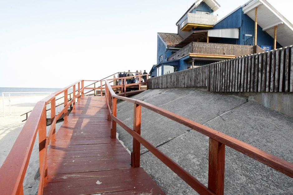 Paplūdimių apžiūros metu – incidentas