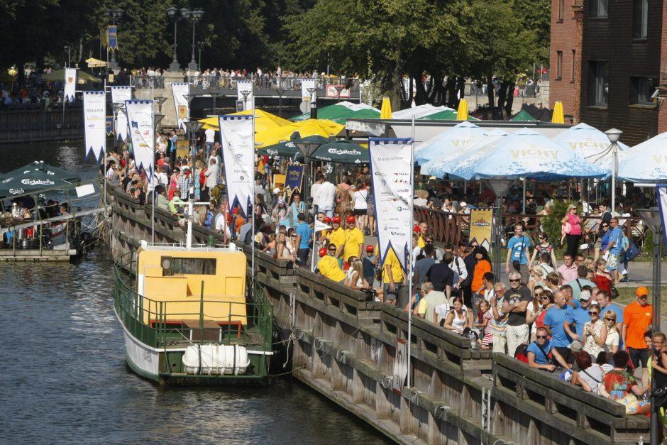 Jūros šventė atsisveikino su uostamiesčiu