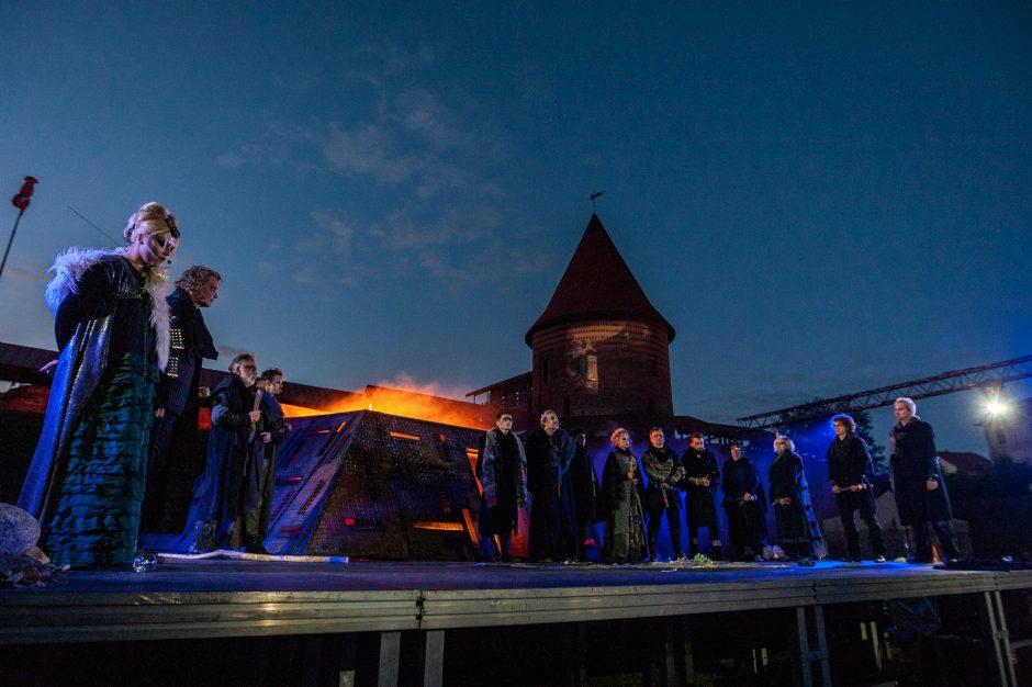 Pažaislio muzikos festivalis vėl stebino žiūrovus išskirtiniu spektakliu