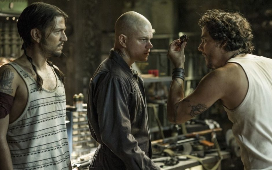 M. Damonas už žmonių lygybę 2154-aisiais kovos fantastiniame filme