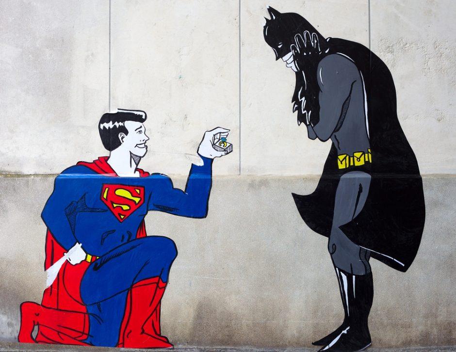 Supermenas ir Betmanas suvienys jėgas naujam filmui