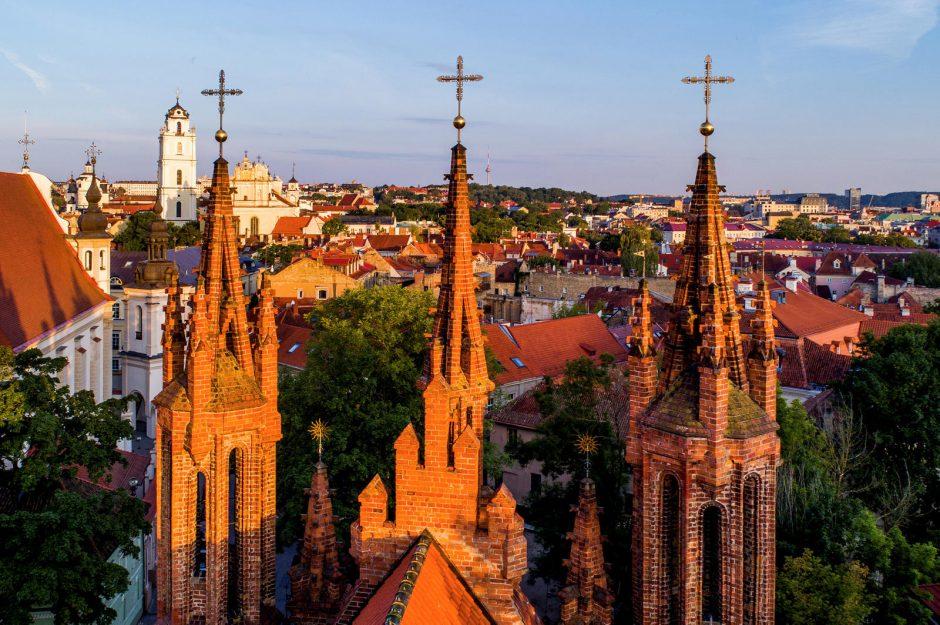 UNESCO Vilnių įtraukė į įstabiausių Europos vietų sąrašą